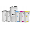 Yellow Compatible Hp Designjet T1500,T2500,T920-130Ml